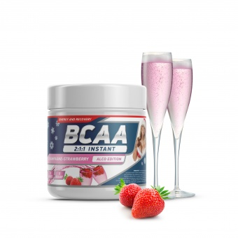 Geneticlab BCAA 2:1:1 instant Champagne-strawberry